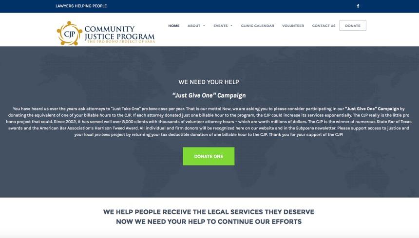 community justice program