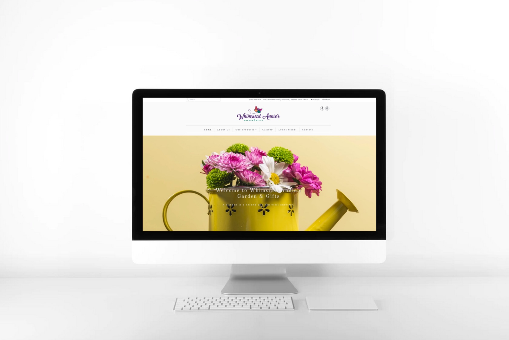 Whimsical Annie's Garden & Gifts: Online Store to Compliment Brick and Mortar