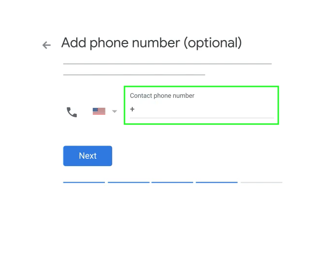 google my business add phone number