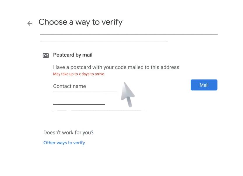 google my business verify business