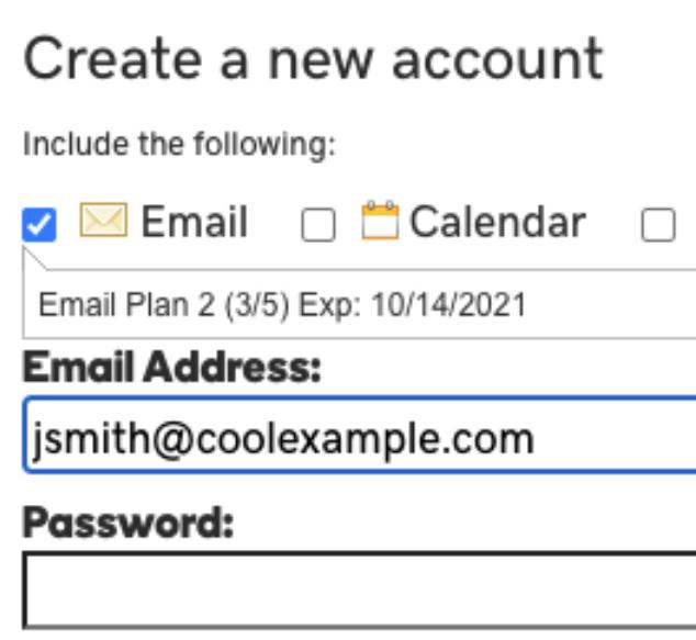 godaddy email setup